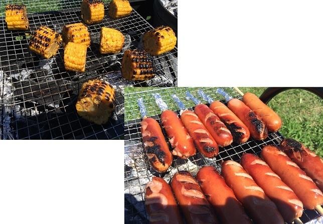 3焼き芋だけでなく肉や焼きそばなども勿論焼きましたよ(^o^).jpg